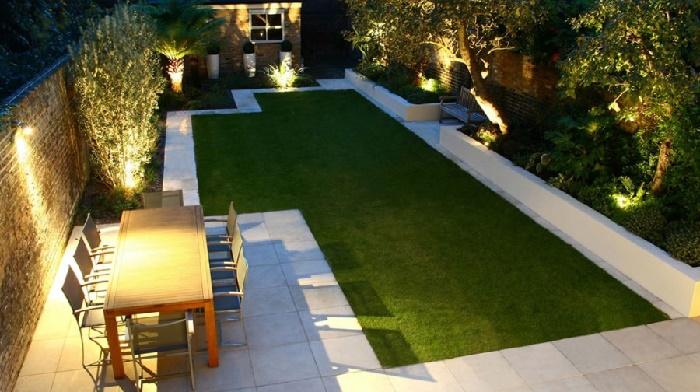 Illuminare il vialetto d\'ingresso e il giardino