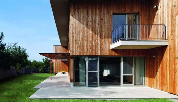 Casa in legno. Ecologica e antisismica