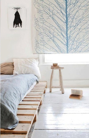 idee riciclo pallet