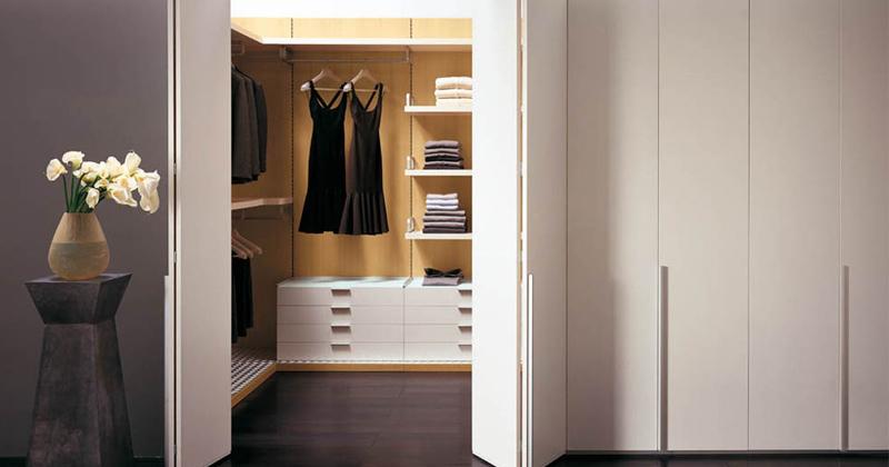 Cabina Armadio Piccola Moderna : Progettare la cabina armadio