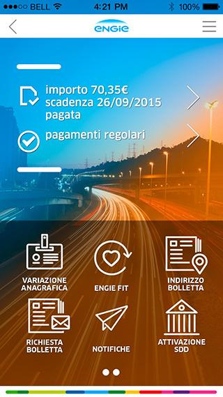 app utenze e sport