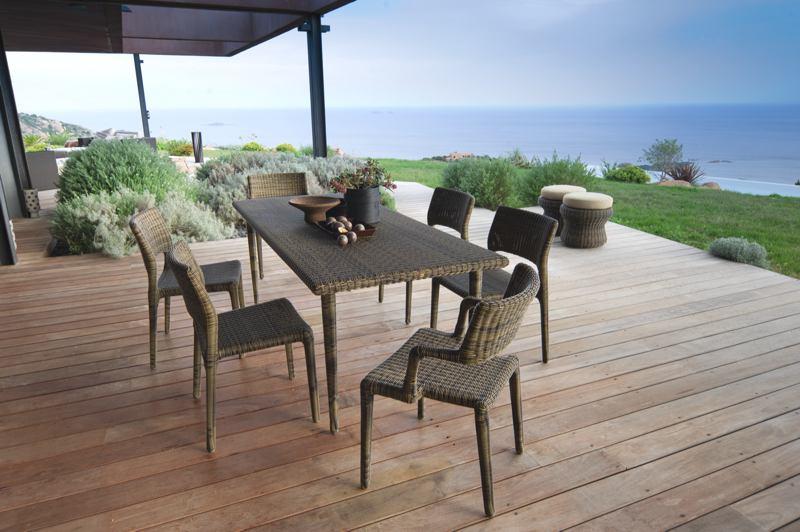 sedie e tavolo per giardino