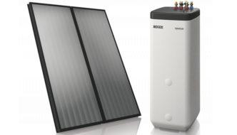 Novità per i pannelli solari termici