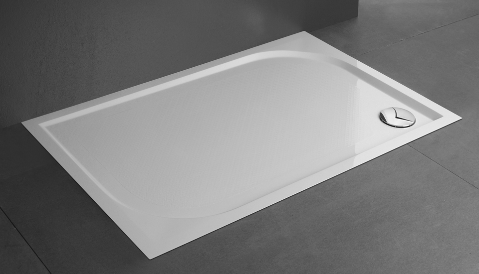 Genesi piatti doccia in resina vetreria design