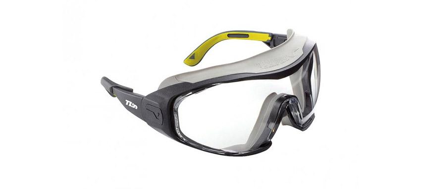 Occhiali di protezione lente incolore TKN
