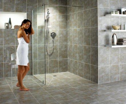 La doccia a filo pavimento tutorcasa - Doccia a pavimento costi ...