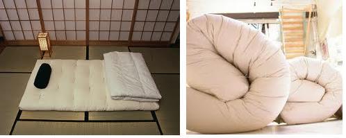 Arredamento letto letti in ferro a scomparsa contenitore for Pavimento giapponese