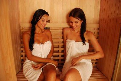 cabine sauna