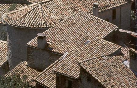 Tegole tetti in laterizio for Tipi di tetto